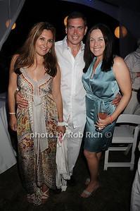 Maria Fishel, Ken Fishel, Barbara Miller photo by Rob Rich © 2010 robwayne1@aol.com 516-676-3939