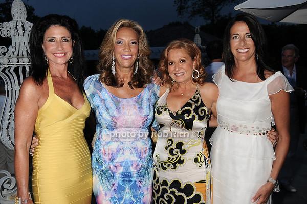 Donna Soloway, Denise Rich, Michelle Rella, Donna Poyiadjis  photo by Rob Rich © 2010 robwayne1@aol.com 516-676-3939