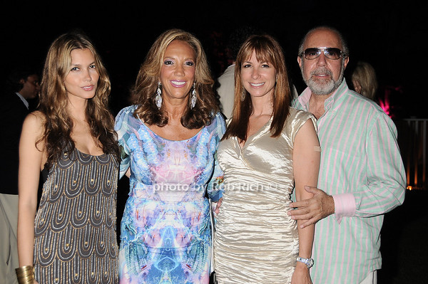 Indrani, Denise Rich,  Jill Zarin, Bobby Zariin