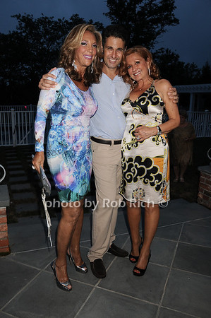 Denise Rich, Richard Kilstock, Michelle Rella photo by Rob Rich © 2010 robwayne1@aol.com 516-676-3939