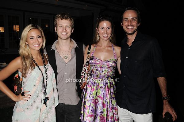 Natasha Bessez, Ian O'neill, Julia Lindenthal, Heinz Haas photo by Rob Rich © 2010 robwayne1@aol.com 516-676-3939