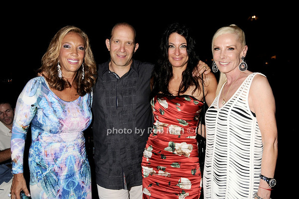 Denise Rich, Howard Lutnick, Allison Lutnick, Michele Herbert
