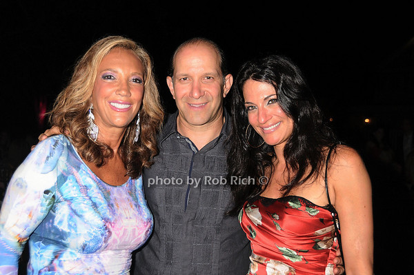 Denise Rich, Howard Lutnick, Allison Lutnick