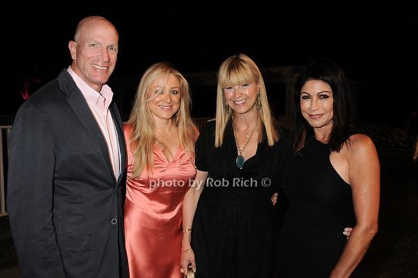 Mike Lorig, Caroline Berthet, Marcy Warren, Caroline Hirsch photo by Rob Rich © 2010 robwayne1@aol.com 516-676-3939