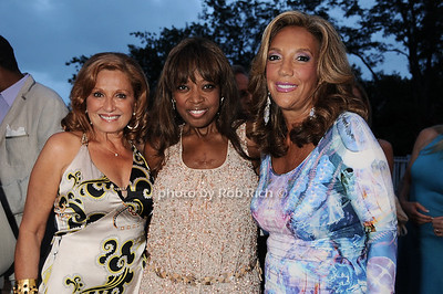 Michelle Rella, Star Jones, Denise Rich photo by Rob Rich © 2010 robwayne1@aol.com 516-676-3939