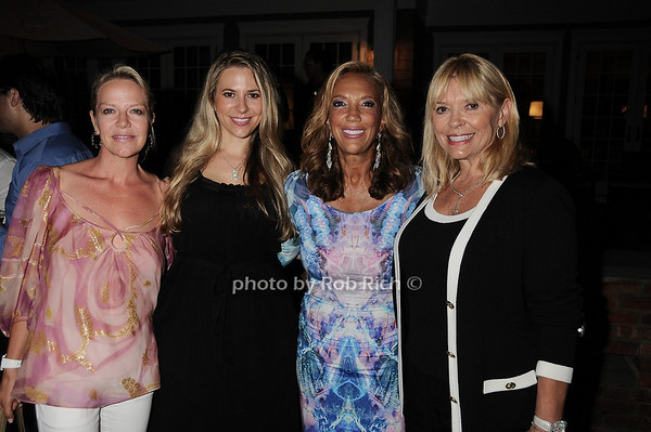 Pamela Johananoff, Brooke Milstein, Denise Rich, Sandra Milstein 