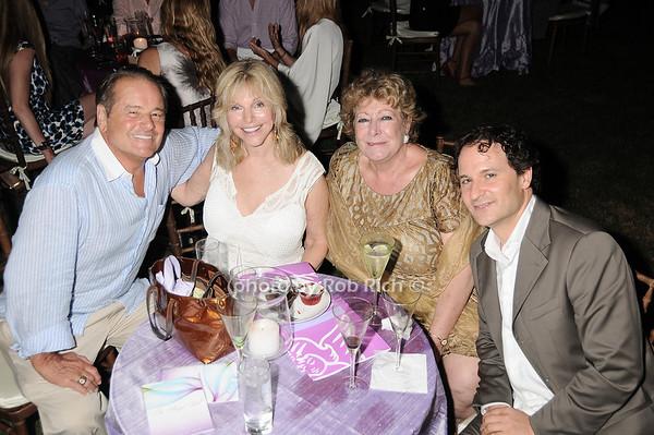 Rod Gilbert, Judy Gilbert, Catherine Saxton, David Hryck photo by Rob Rich © 2010 robwayne1@aol.com 516-676-3939