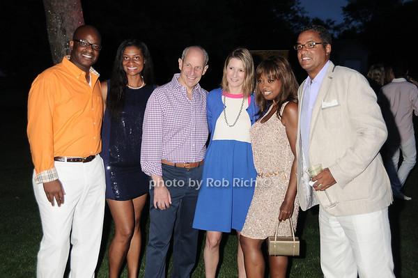 Mike Cooper, Nina Cooper, Jonathan Tisch, Lizzie Tisch, Star Jones, Herb Wilson photo by Rob Rich © 2010 robwayne1@aol.com 516-676-3939