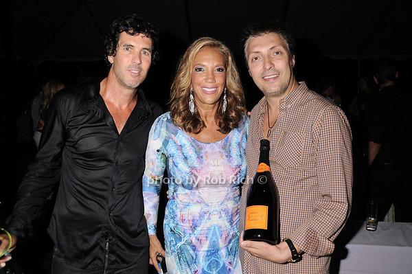 Tim Lobello, Denise Rich, Giuseppe Tuosto photo by Rob Rich © 2010 robwayne1@aol.com 516-676-3939