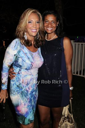 Denise Rich, Nina Cooper photo by Rob Rich © 2010 robwayne1@aol.com 516-676-3939