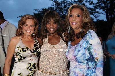 Michelle Rella, Star Jones, Denise Rich photo by Rob Rich © 2010 robwayne1@aol.com 516-676-3939