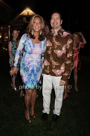 Denise Rich, Matt Rich photo by Rob Rich © 2010 robwayne1@aol.com 516-676-3939