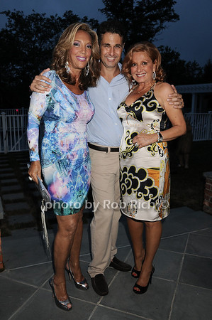 Denise Rich, Richard Kilstock, Michelle Rella photo by Rob Rich © 2010 robwayne1@aol.com 516-676-3939