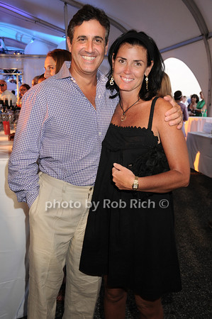 "Ed Burke and Tricia Burke attend  the Baystreet Theatre ""Rock the Dock"" Summer Gala Benefit on Long Wharf in Sag Harbor on July 17, 2010.photo by Rob Rich/SocietyAllure.com"