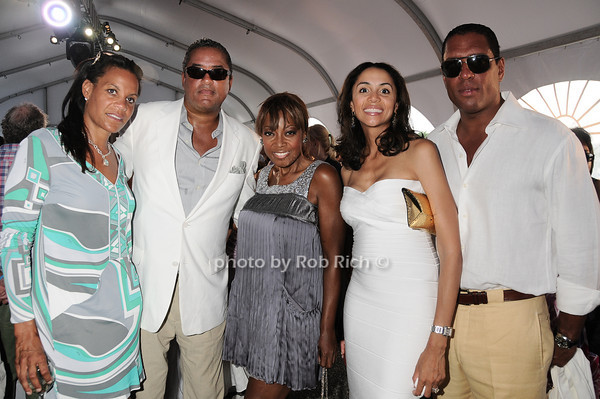 Kimberly Hatchett, Rich Wilson, Star Jones, guests
