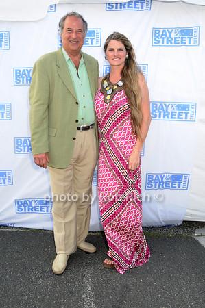 "Broadway Producers Stewart Lane and Bonnie Comley attend  the Baystreet Theatre ""Rock the Dock"" Summer Gala Benefit on Long Wharf in Sag Harbor on July 17, 2010.photo by Rob Rich/SocietyAllure.com"