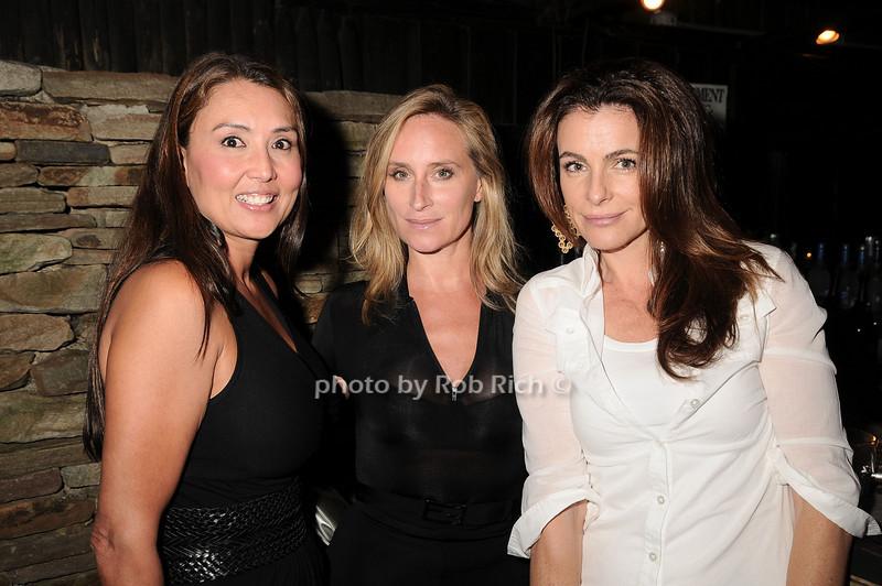 Sharon McKee, Sonja Morgan,Margaret Luce<br /> photo by Rob Rich © 2010 robwayne1@aol.com 516-676-3939