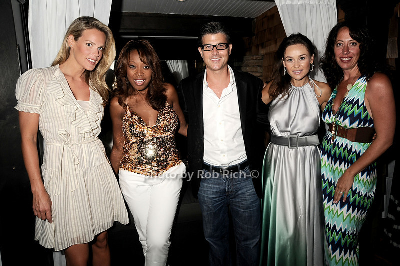 Heidi Albertsen, Star Jones, Frank Cilione,Beata Boman, Tatiana Platt<br /> photo by Rob Rich © 2010 robwayne1@aol.com 516-676-3939