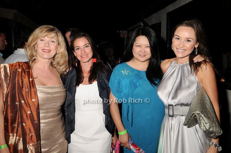 Paola Rosenshein, Annie Falk,  Susan Shin, Beata Bohman<br /> photo by Rob Rich © 2010 robwayne1@aol.com 516-676-3939