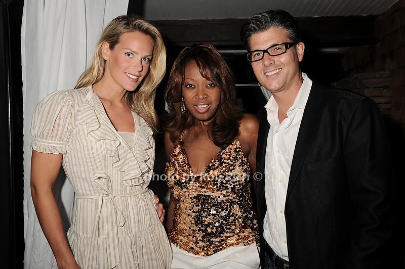 Heidi Albertsen, Star Jones, Frank Cilione<br /> photo by Rob Rich © 2010 robwayne1@aol.com 516-676-3939