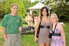 Nick Marzano,Sonia (Adult female Red Tailed Hawk), Maggie Rankova, Suzanne Obser<br /> photo by Rob Rich © 2010 robwayne1@aol.com 516-676-3939