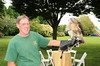 Nick Marzano,Sonia (Adult female Red Tailed Hawk)<br /> photo by Rob Rich © 2010 robwayne1@aol.com 516-676-3939
