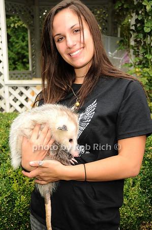 Mandy Capuano, Marci (Opossum)<br /> photo by Rob Rich © 2010 robwayne1@aol.com 516-676-3939