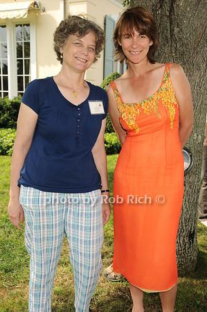 Ginnie Frati, Suzanne Ruggles<br /> photo by Rob Rich © 2010 robwayne1@aol.com 516-676-3939