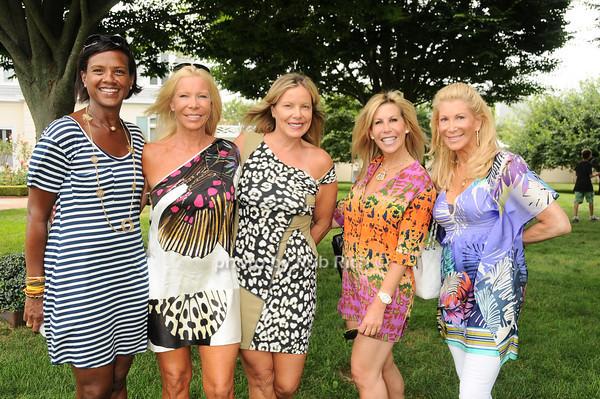 Mireya D'Angelo, Elizabeth Sample, Brenda Powers, Amy Kaplan, Michelle Walker<br /> photo by Rob Rich © 2010 robwayne1@aol.com 516-676-3939
