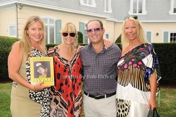Brenda Powers,Marcy Warren, Michael Warren, Elizabeth Sample<br /> photo by Rob Rich © 2010 robwayne1@aol.com 516-676-3939