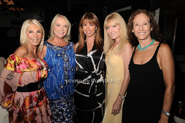 Andrea Wernick,Suzan Kremer, Jill Zarin, Colleen Rein, Sioux Saunders<br /> photo by Rob Rich © 2010 robwayne1@aol.com 516-676-3939