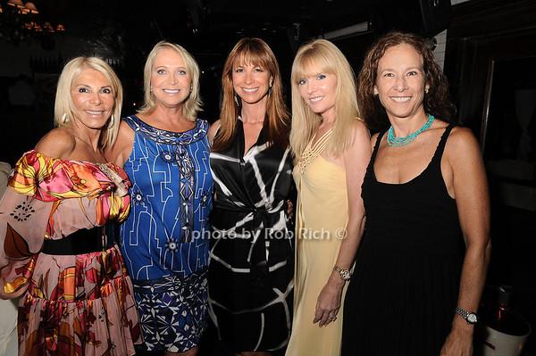 Andrea Wernick,Suzan Kremer, Jill Zarin, Colleen Rein, Sioux Saunders<br /> photo by Rob Rich © 2010 robwayne1@aol.com 516-676-3939
