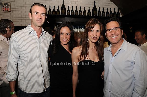 Gregg Mikusinski, Lauren Perry, Gayle Perry Sobel, Howard Sobel<br /> photo by Rob Rich © 2010 robwayne1@aol.com 516-676-3939