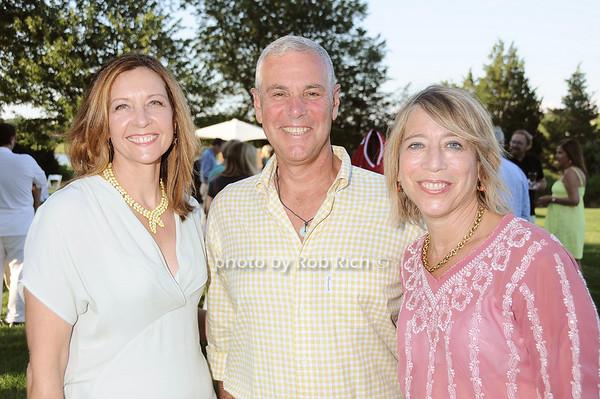 Judith Curr, Michael Pollack, Barbara Marcus<br /> photo by Rob Rich © 2010 robwayne1@aol.com 516-676-3939