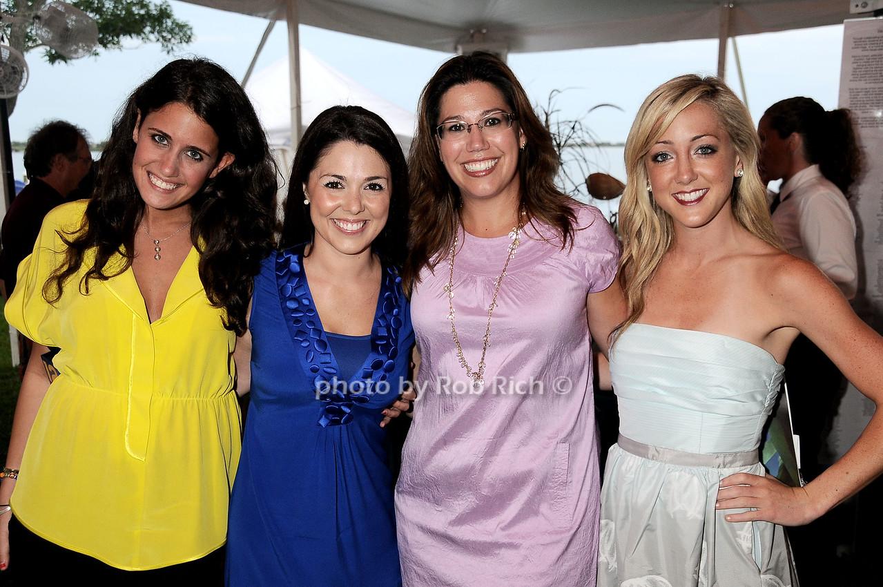 Madison Lipton, Elisa DeStefano, Nicole Brewer, Stacy Kaplan photo by Rob Rich © 2010 robwayne1@aol.com 516-676-3939
