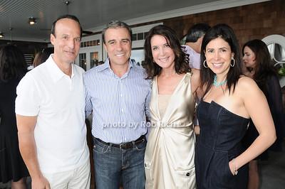 Fred Davis, Andrew Zaro, Lois Robbins, Rona Davis photo by Rob Rich © 2010 robwayne1@aol.com 516-676-3939