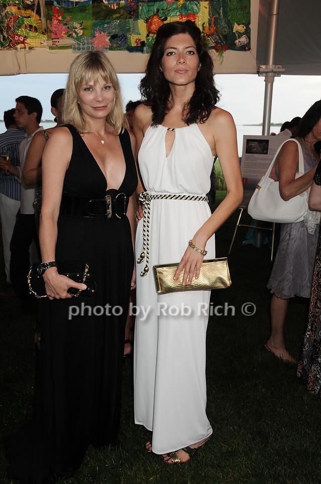 Suzanne Le Fleur, Kate Gibbs photo by Rob Rich © 2010 robwayne1@aol.com 516-676-3939