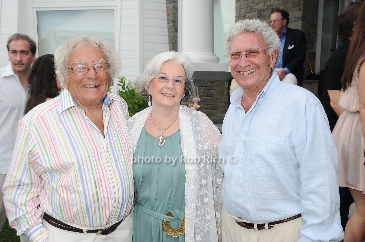 Sam Joffe, Gail Schwenker Mayer, Alan Mayer photo by Rob Rich © 2010 robwayne1@aol.com 516-676-3939