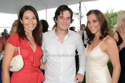 Florence Pagneris, Greg Derthomieu, Deanna D'Alfonso photo by Rob Rich © 2010 robwayne1@aol.com 516-676-3939