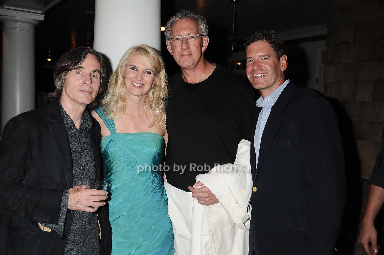 Jackson Browne, Sara Galloway, Barry, Don Freytag photo by Rob Rich © 2010 robwayne1@aol.com 516-676-3939