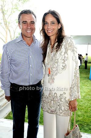 Andrew Zaro, Marcia Mishaan photo by Rob Rich © 2010 robwayne1@aol.com 516-676-3939