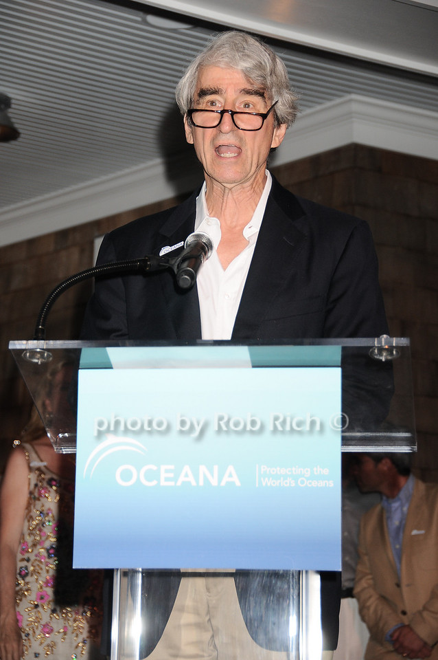 Sam Waterston at the Oceana fundraiser in Watermill on July 10, 2010. photo by Rob Rich/SocietyAllure.com