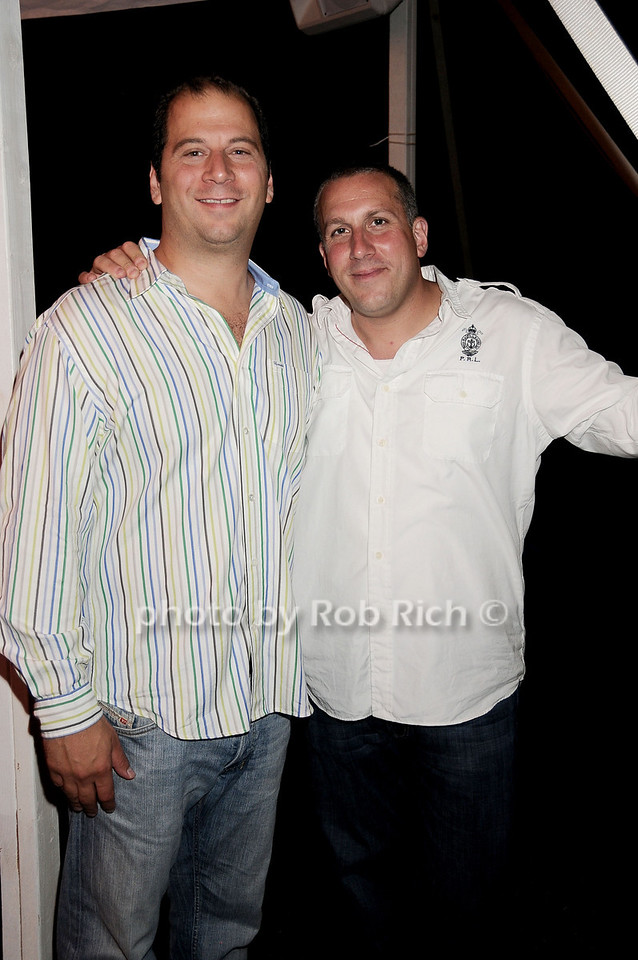 Peter Pizzino, Richard Privitera photo by Rob Rich © 2010 robwayne1@aol.com 516-676-3939