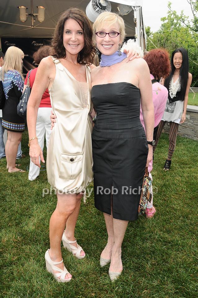 Lois Robbins, Carol Weisman photo by Rob Rich © 2010 robwayne1@aol.com 516-676-3939