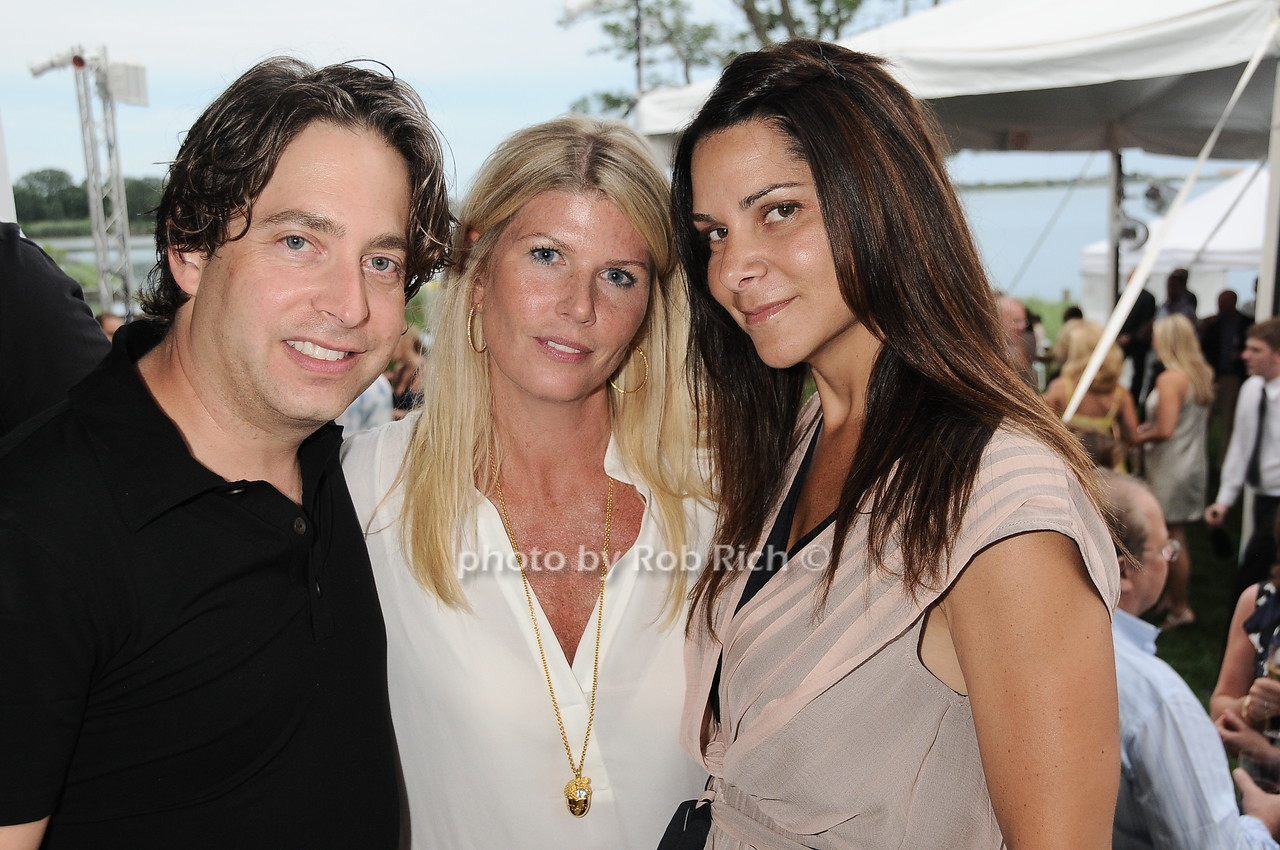 Charlie Walk, Gail Tobias, Lauren Walk