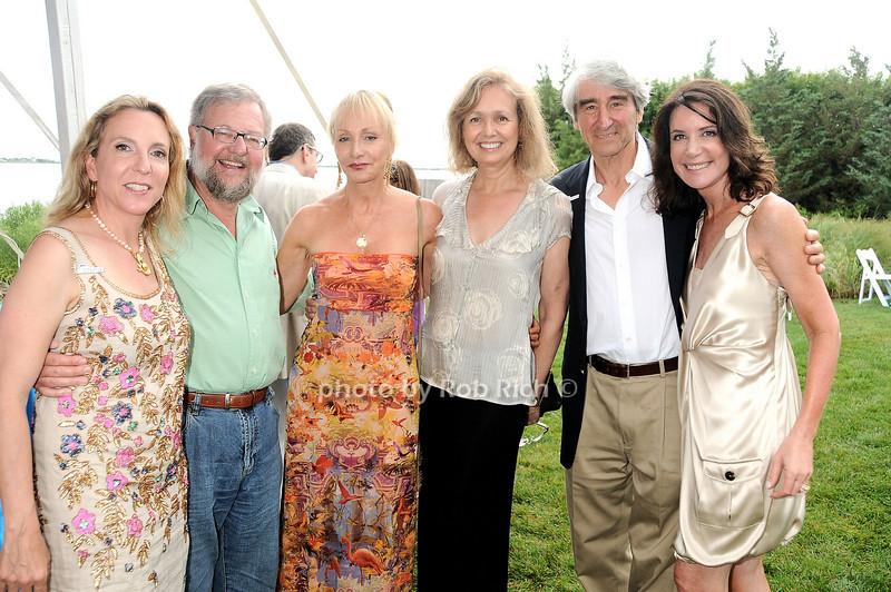 Sue Cohn Rockefeller, David Rockefeller, Diana Benbaquen, Lynn Waterston, Sam Waterston photo by Rob Rich © 2010 robwayne1@aol.com 516-676-3939