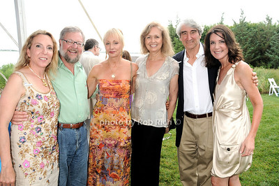 Sue Cohn Rockefeller, David Rockefeller, Diana Benbaquen, Lynn Waterston, Sam Waterston photo by Rob Rich © 2010 robwayne1@aol.com 516-676-3939