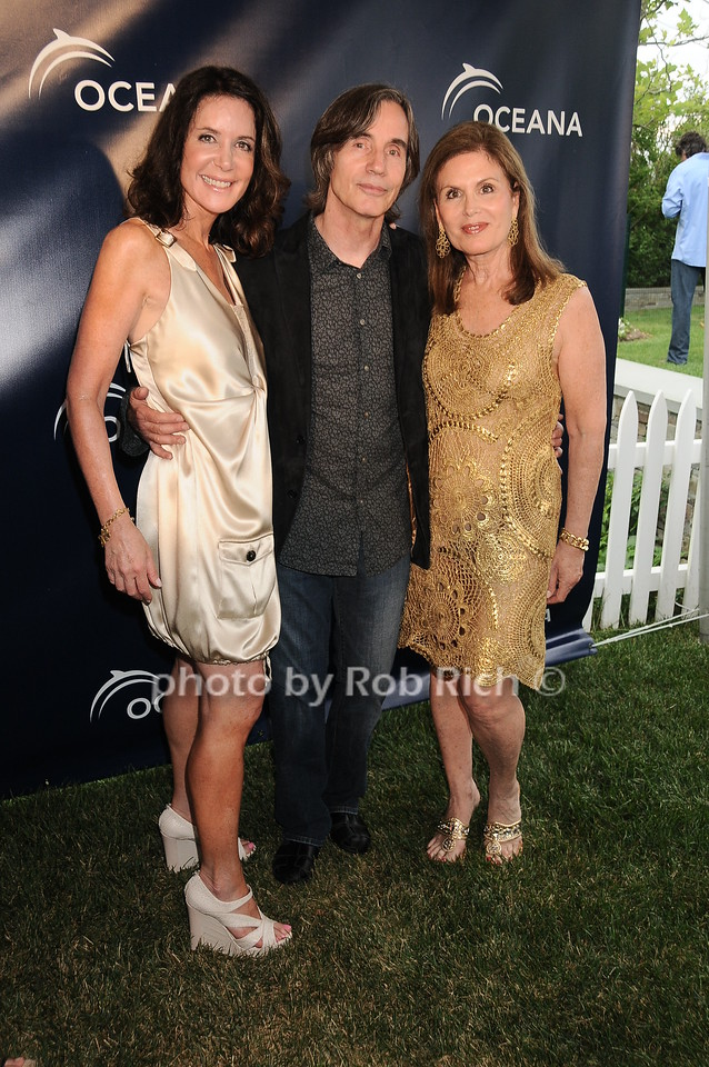 Lois Robbins, Jackson Browne, Bonnie Lautenberg
