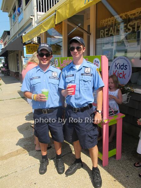 Bo Hershey and Rudy Helbock