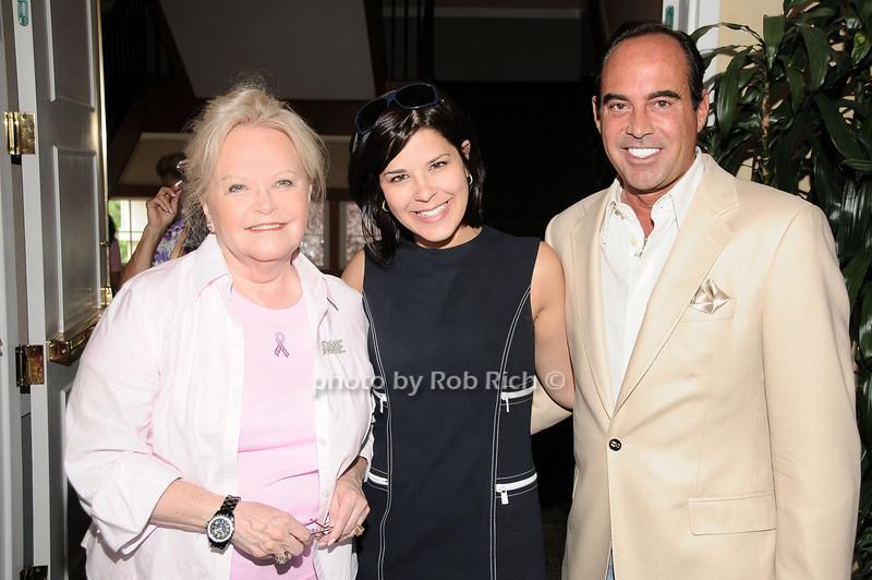 Jane Pontarelli, Nicole Mancini, Tony Scardino<br /> photo by Rob Rich © 2010 robwayne1@aol.com 516-676-3939